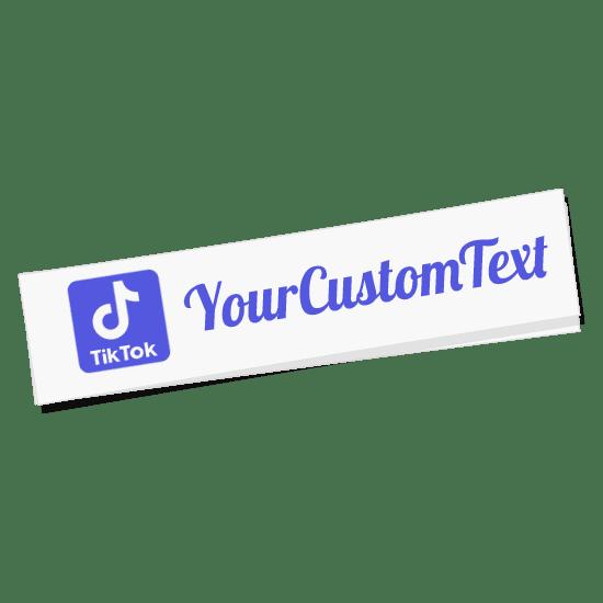 Tik Tok Name Sticker